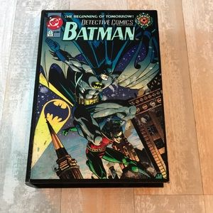 DC Comics Batman Wood Box - looks like a book